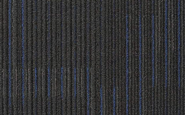 NFD Arizona Carpet Tiles Oxford Blue On Black