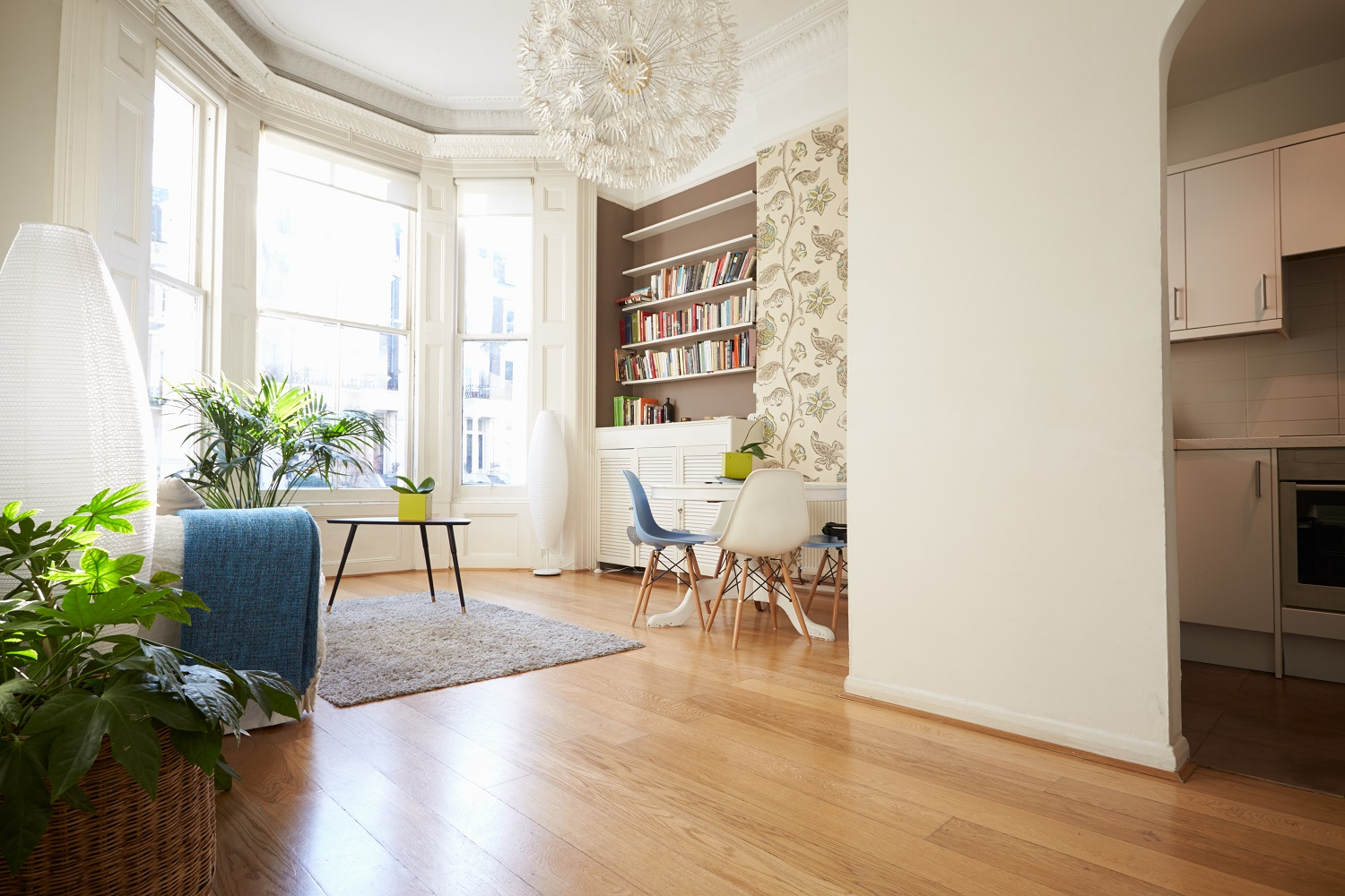 Timber flooring looks great and is highly durable