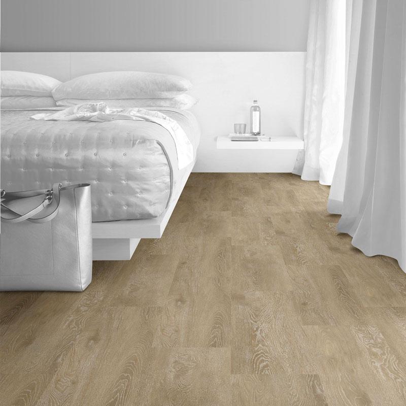 Interface Textured Woodgrains Loose Lay Vinyl Planks Antique Light Oak