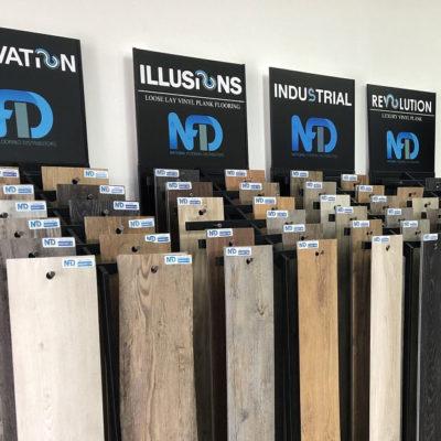 NFD Revolution Vinyl Planks Pearl Grey