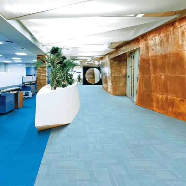 Airlay Paragon Carpet Tiles Crushed Ice