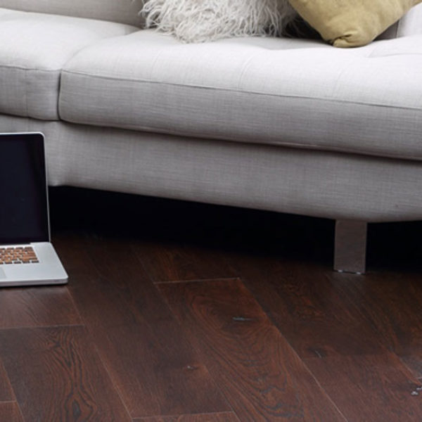 Hurford Flooring Premiere Oak Engineered Timber Burnt Umber