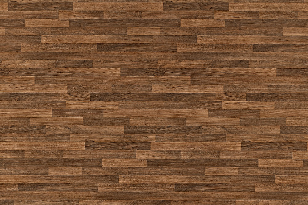 For a unique, natural look, try the random flooring pattern