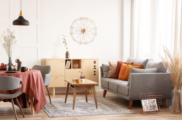 Maximising a small space in a home or apartment