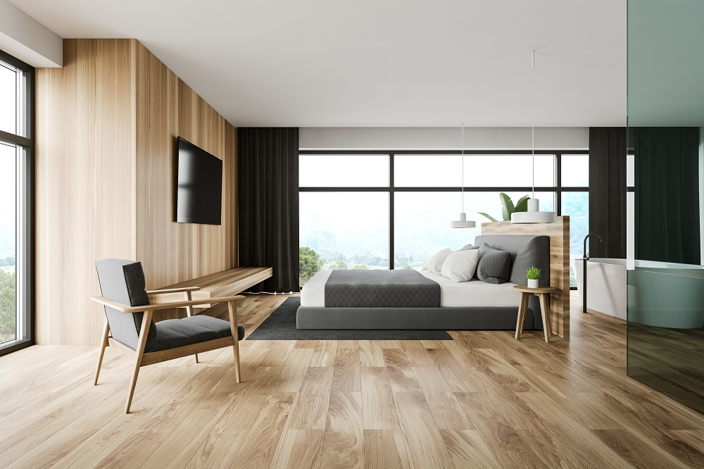 Hybrid flooring mimics the look and feel of real timber