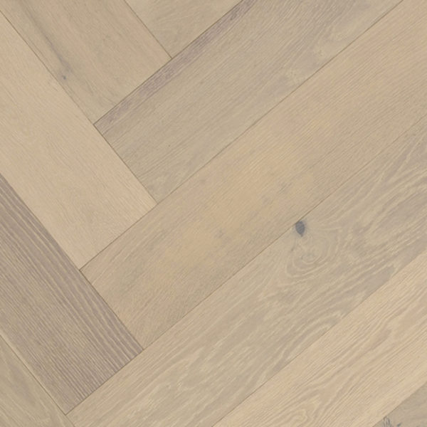 Terra Mater Floors WildOak Lakewood Herringbone Engineered Timber Dove Grey