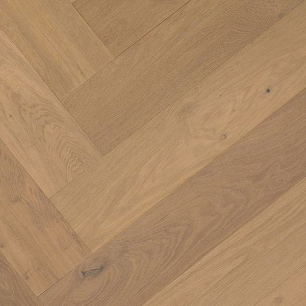 Terra Mater Floors WildOak Lakewood Herringbone Engineered Timber Pearl Grey