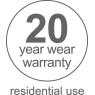 20 year residential warranty