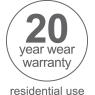 20 year residential warranty