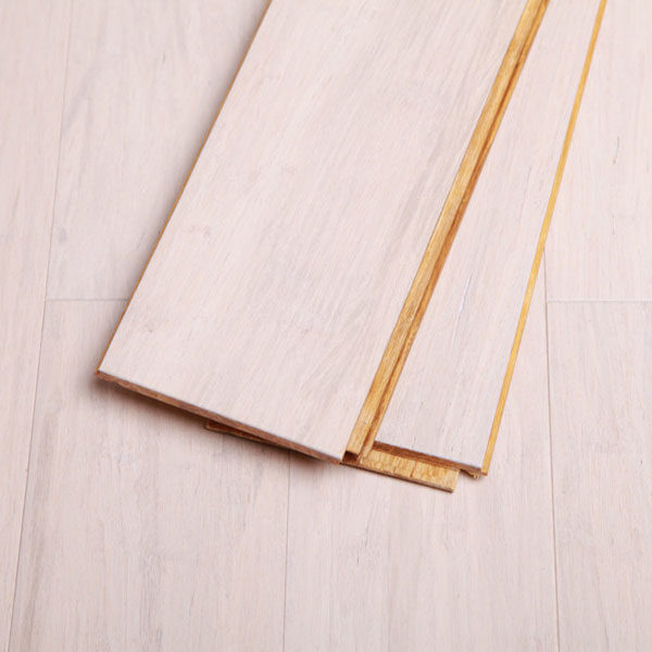 Eco Flooring Systems BT Engineered Bamboo White Lock