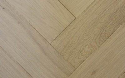 Eco Flooring Systems Swish Oak Natura Herringbone Engineered Timber Danish White Herringbone