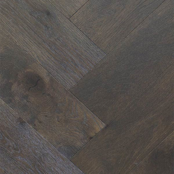 Eco Flooring Systems Swish Oak Natural Herringbone Engineered Timber French Carbon Herringbone