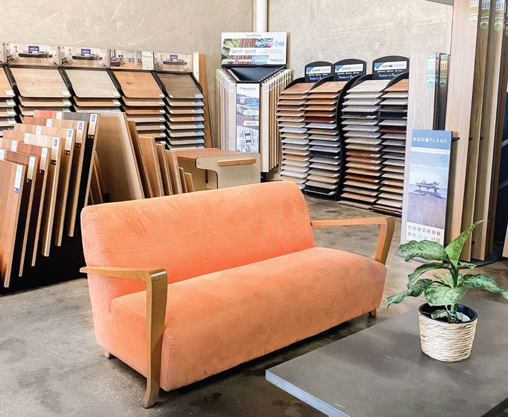 Online Flooring Store Showroom