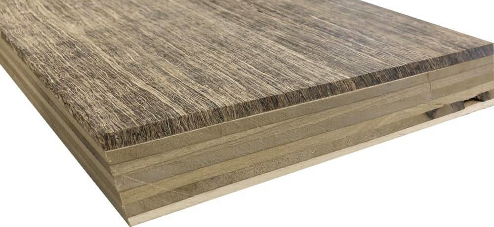 Hemp wood flooring planks are free from formaldehyde and VOC.