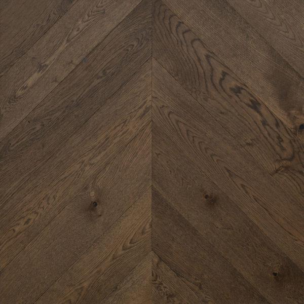Grand Oak Chevron Collection Engineered Timber Parisien Grey
