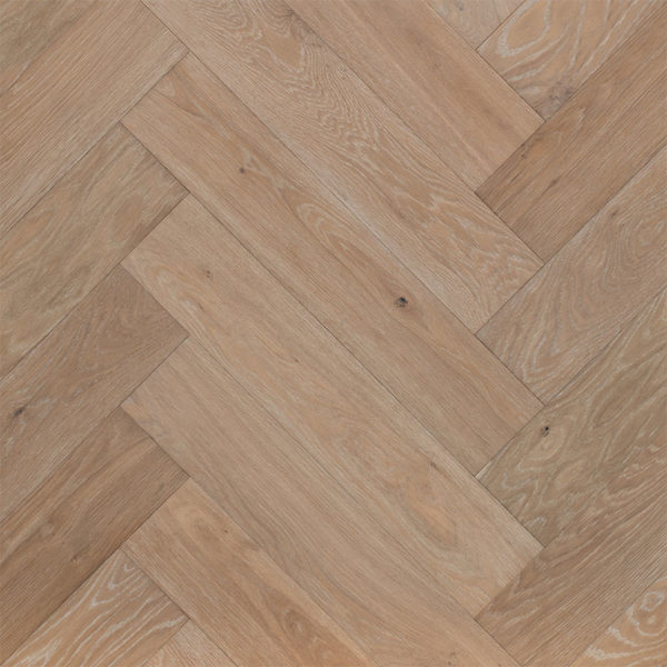 Grand Oak Herringbone Collection Engineered Timber Mink Grey