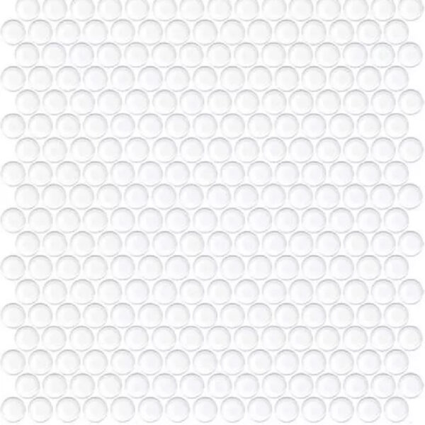 Penny Rounds Tiles White Gloss