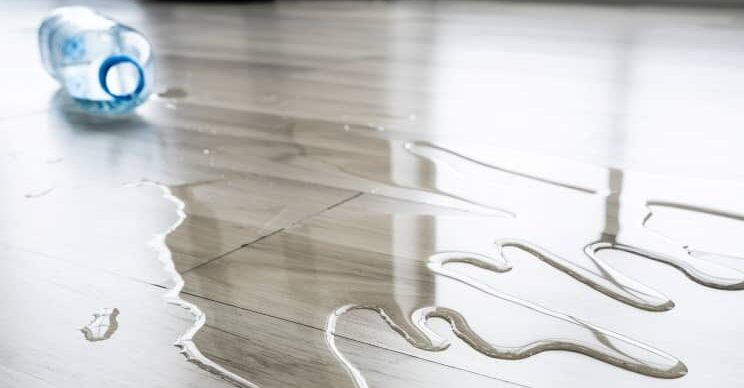 Laminate flooring can never be called 'Water-Proof' but Water Resistant.