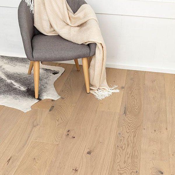 A reclaimed timber floor veneer by Airstep.